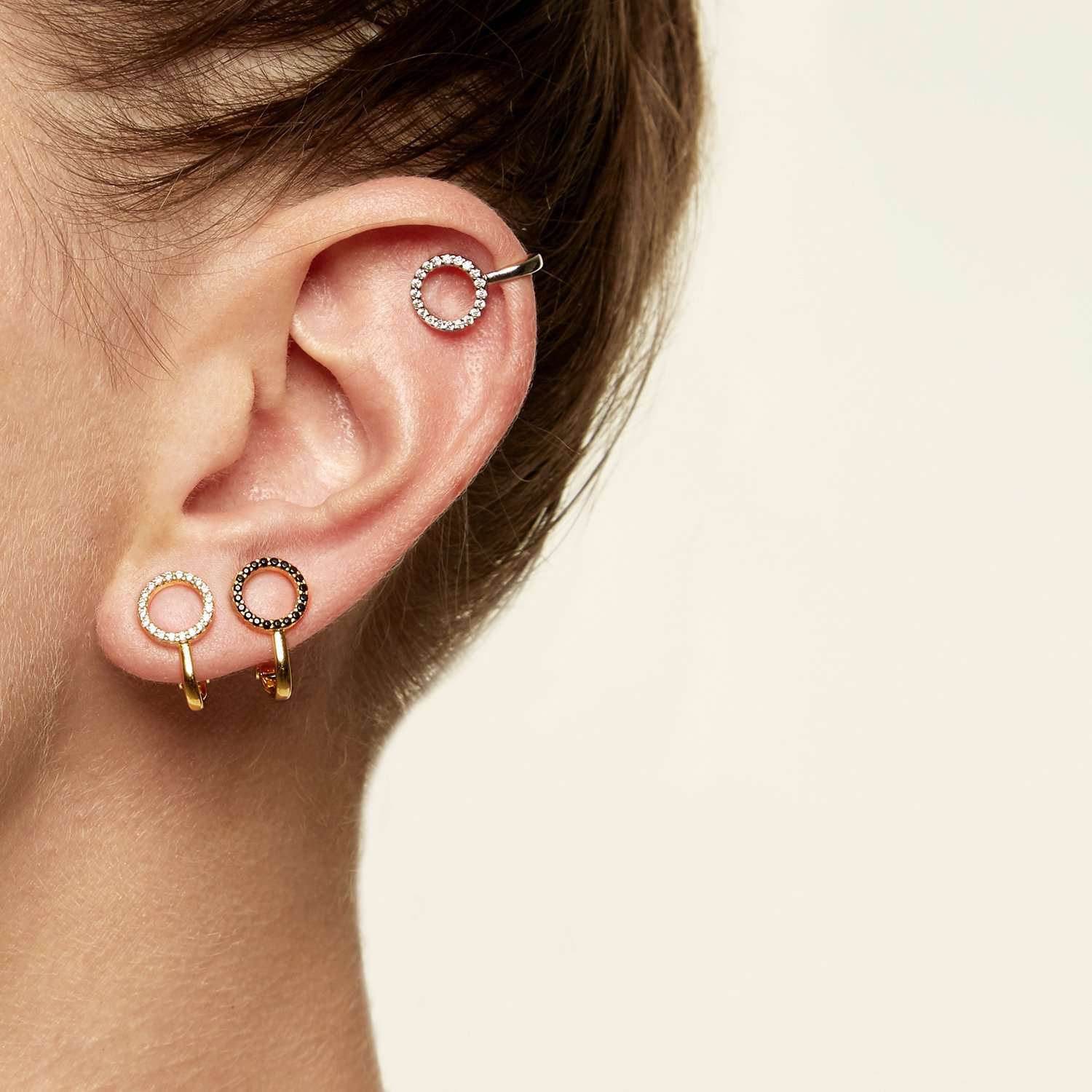 Shop Earrings with Crystal Stones | ESHVI
