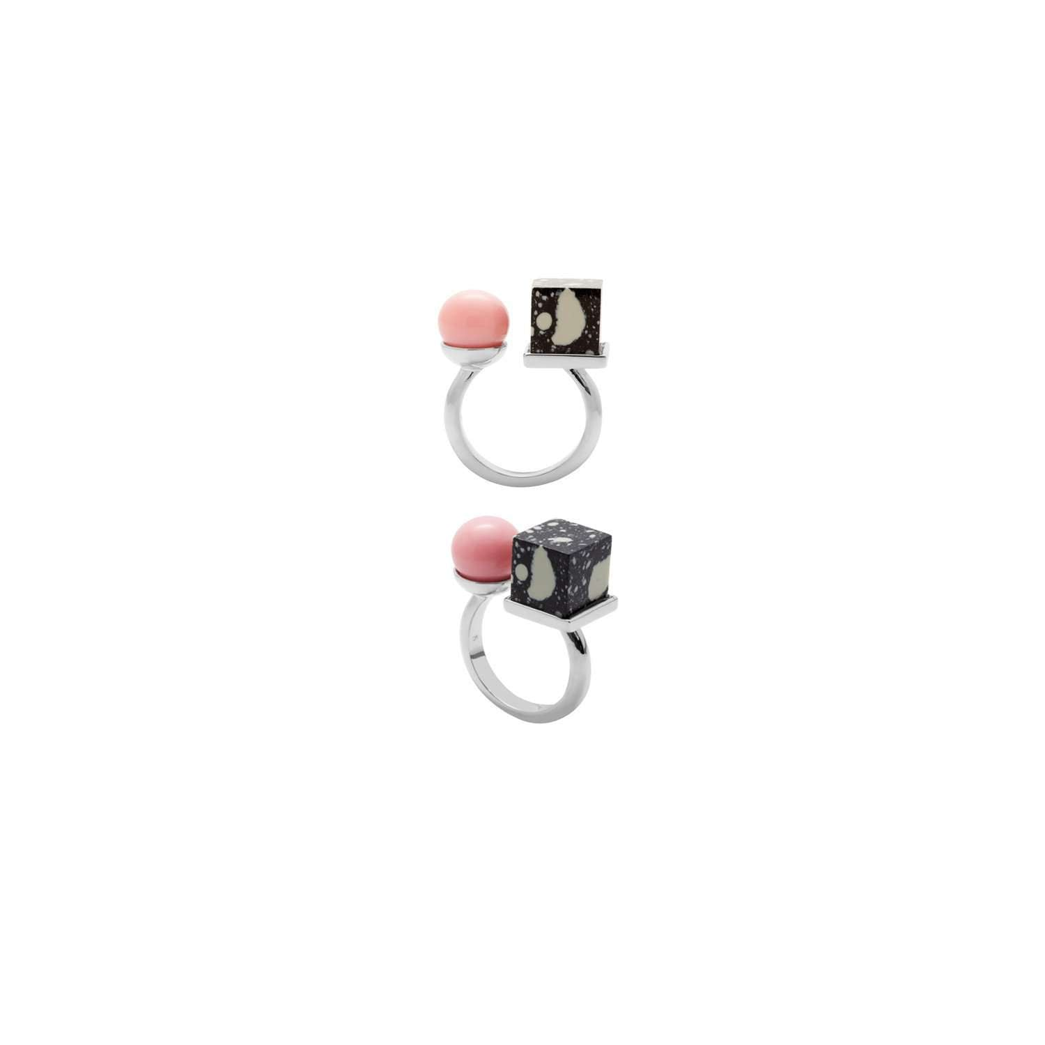 Eshvi: Back to school rings - set of two | Jewelry > Rings,Jewelry -  Hiphunters Shop