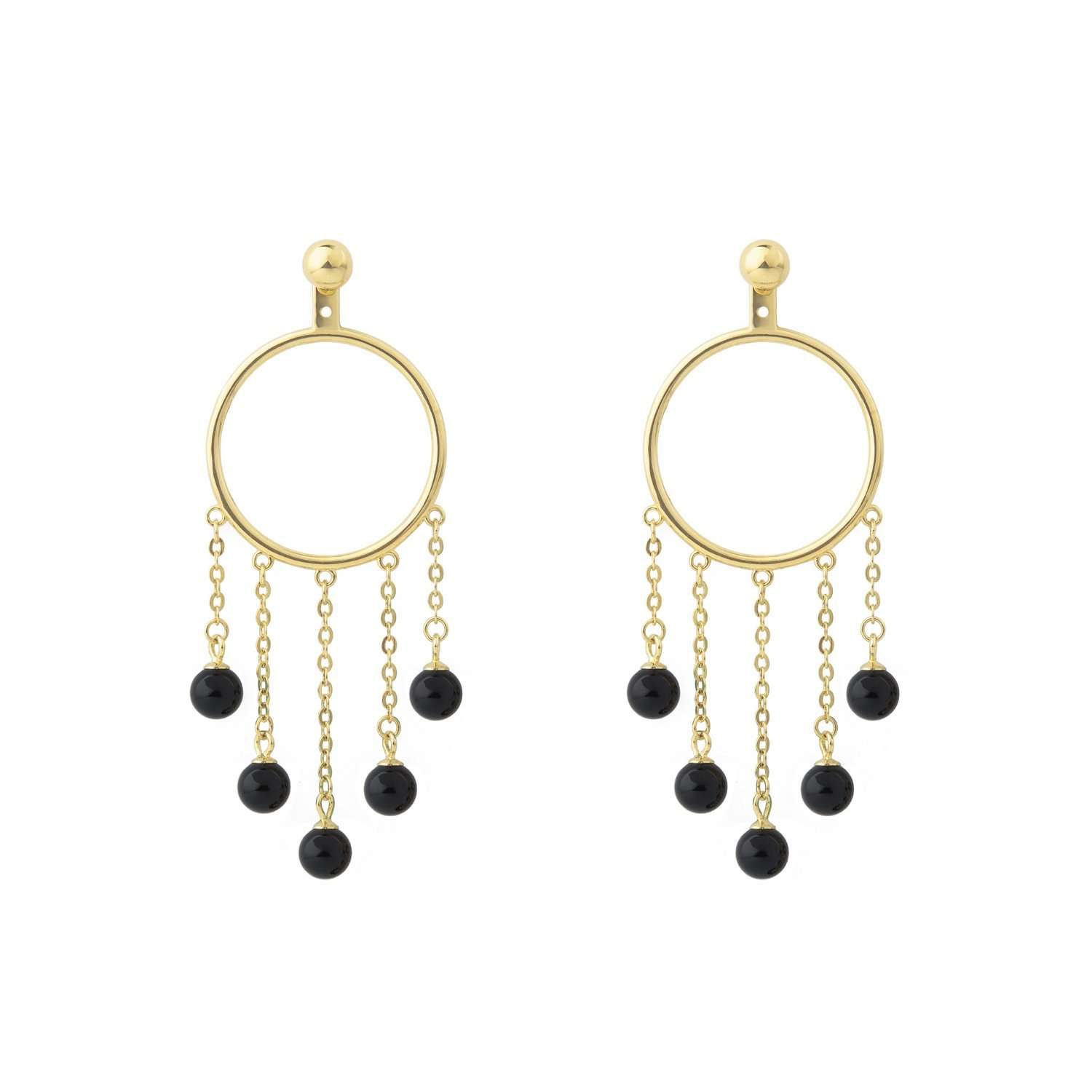 Find out Hula hoops Earrings | ESHVI