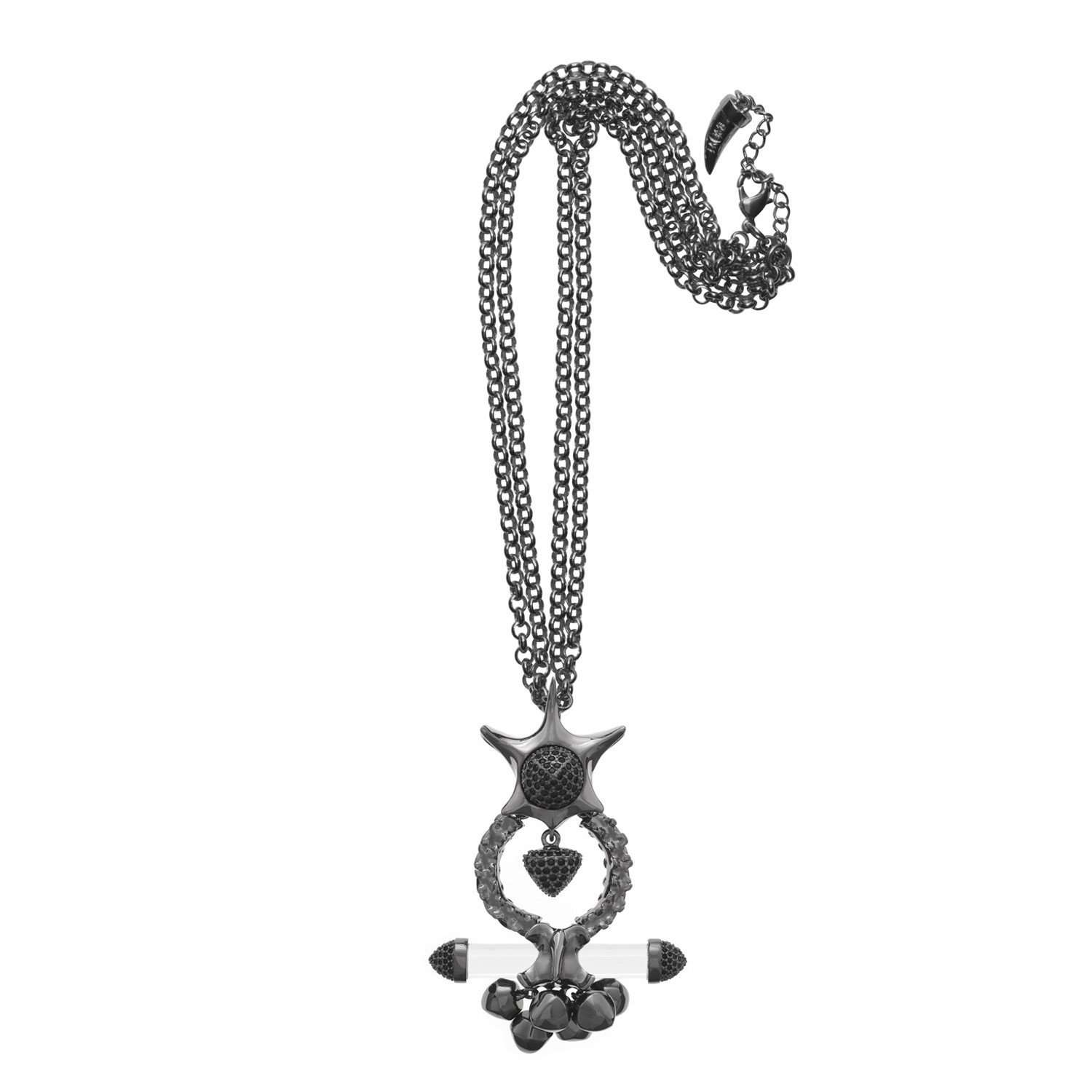Eshvi: X-ray long necklace | Jewelry > Necklaces,Jewelry -  Hiphunters Shop