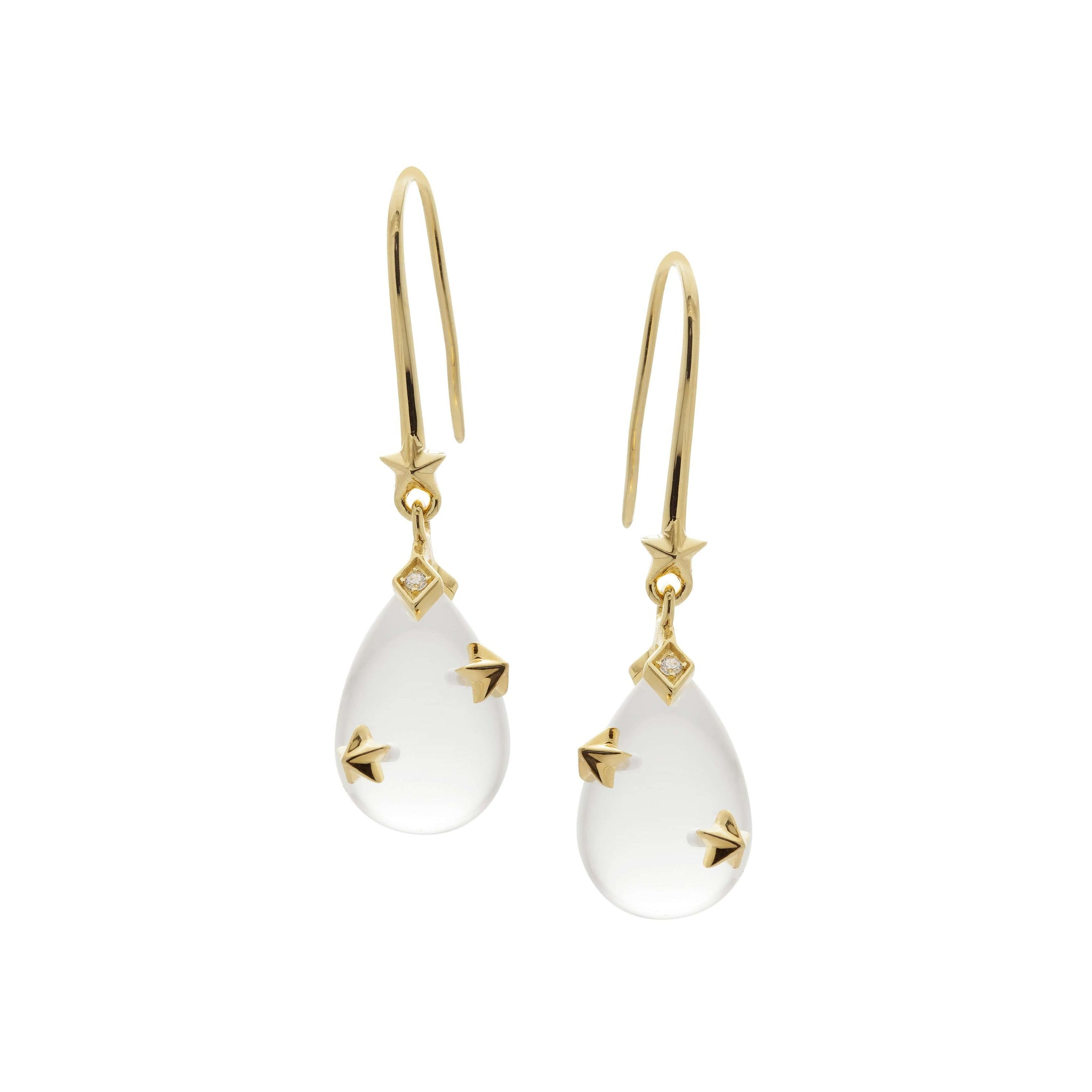 Clear drop  Earrings