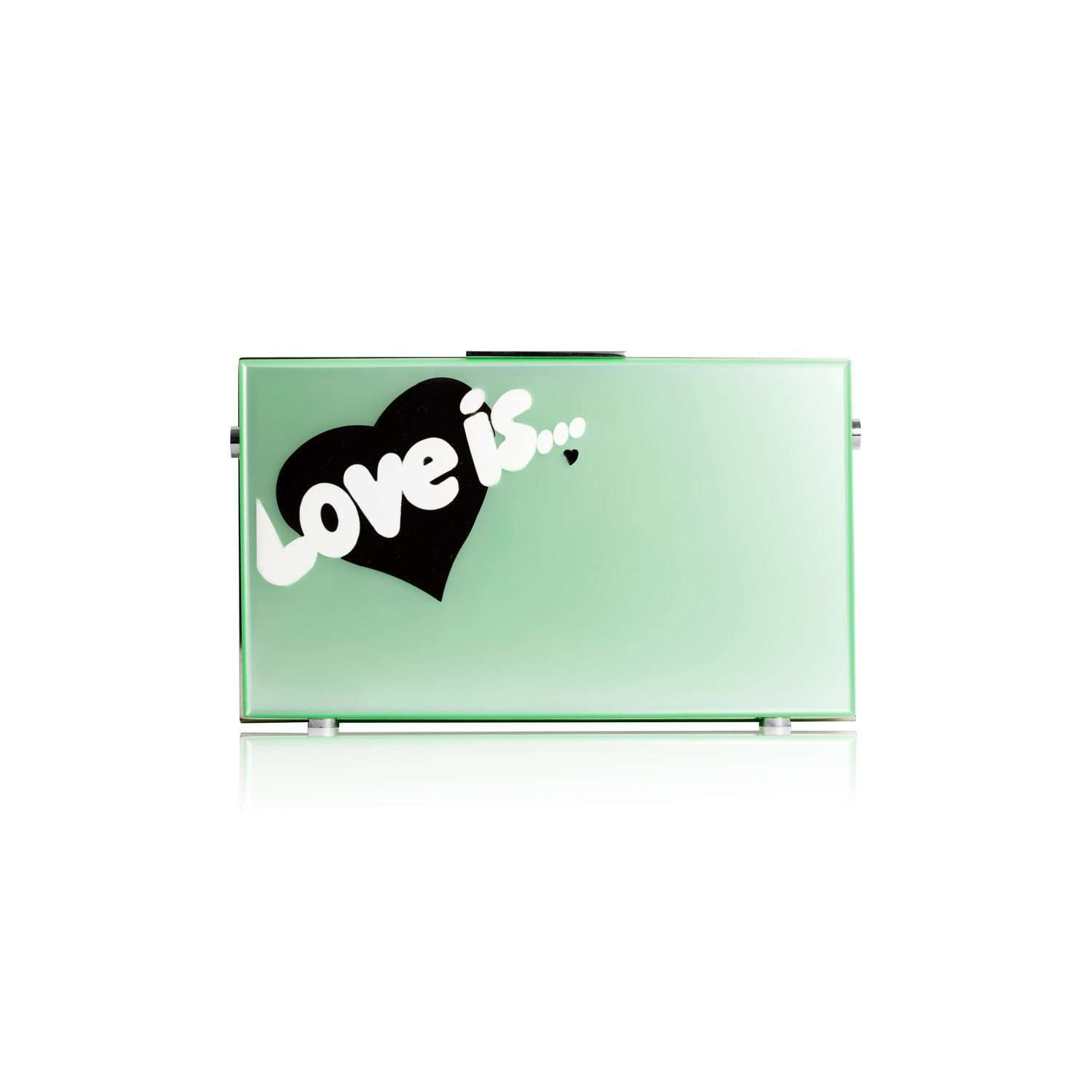 Love is clutch bag