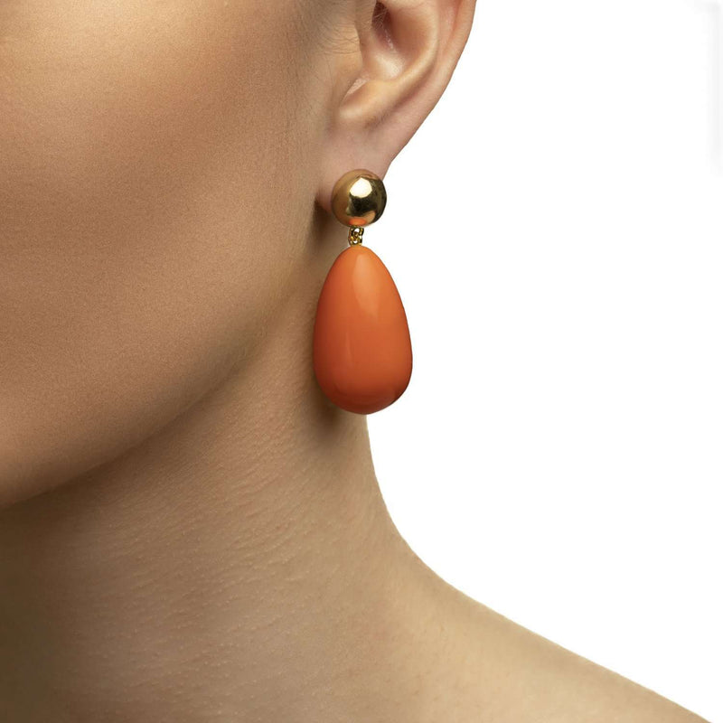 Glossy Drop Earrings