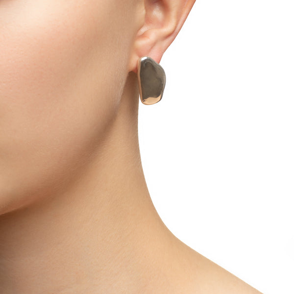 Stone shape Earrings