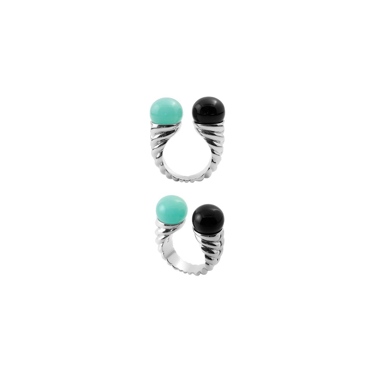 Eshvi: Mint braid ring | Jewelry > Rings,Jewelry -  Hiphunters Shop