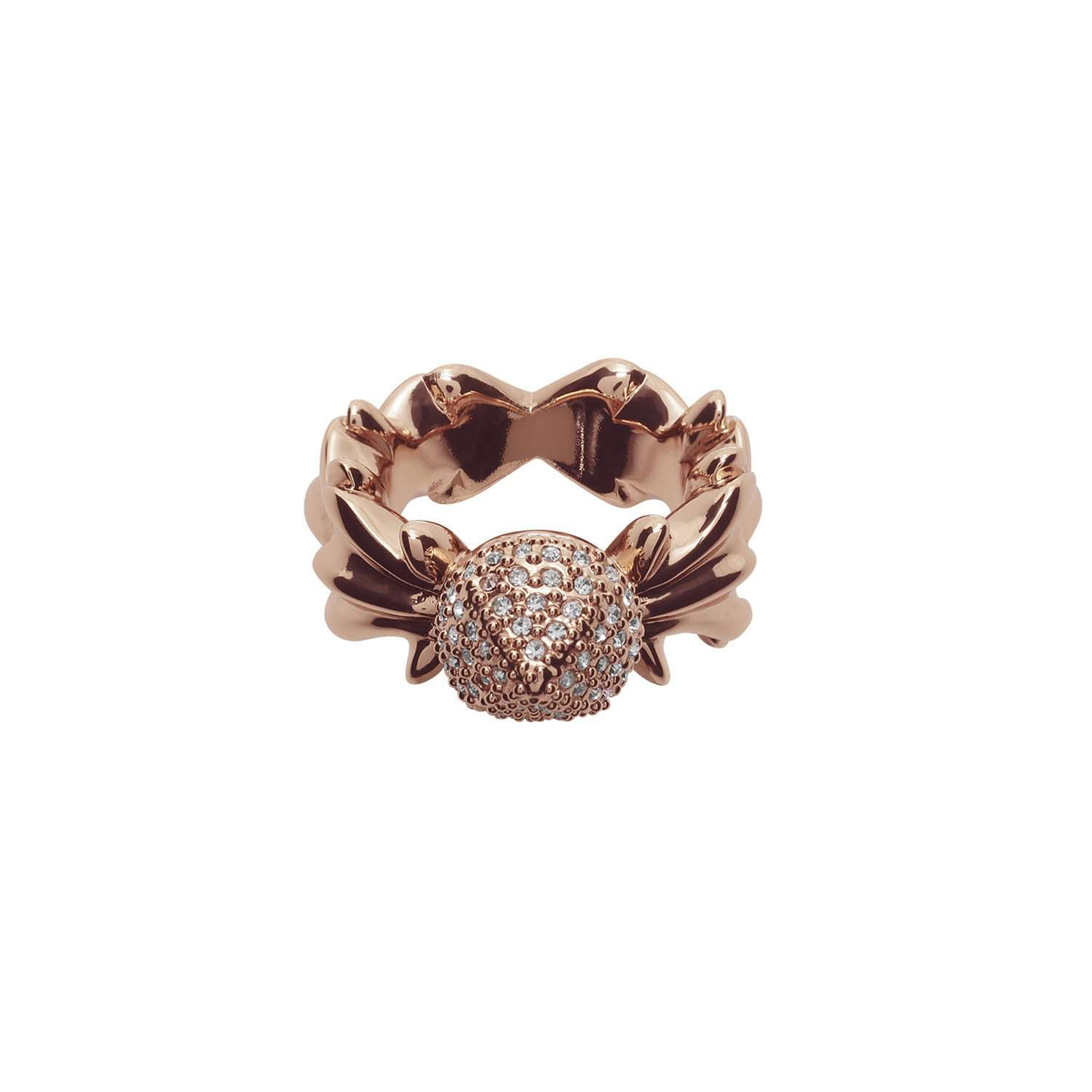 Eshvi: Twisted ring | Jewelry -  Hiphunters Shop