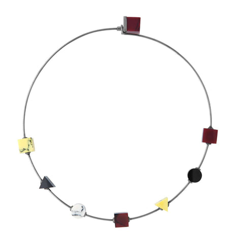 Back To School Thin Choker