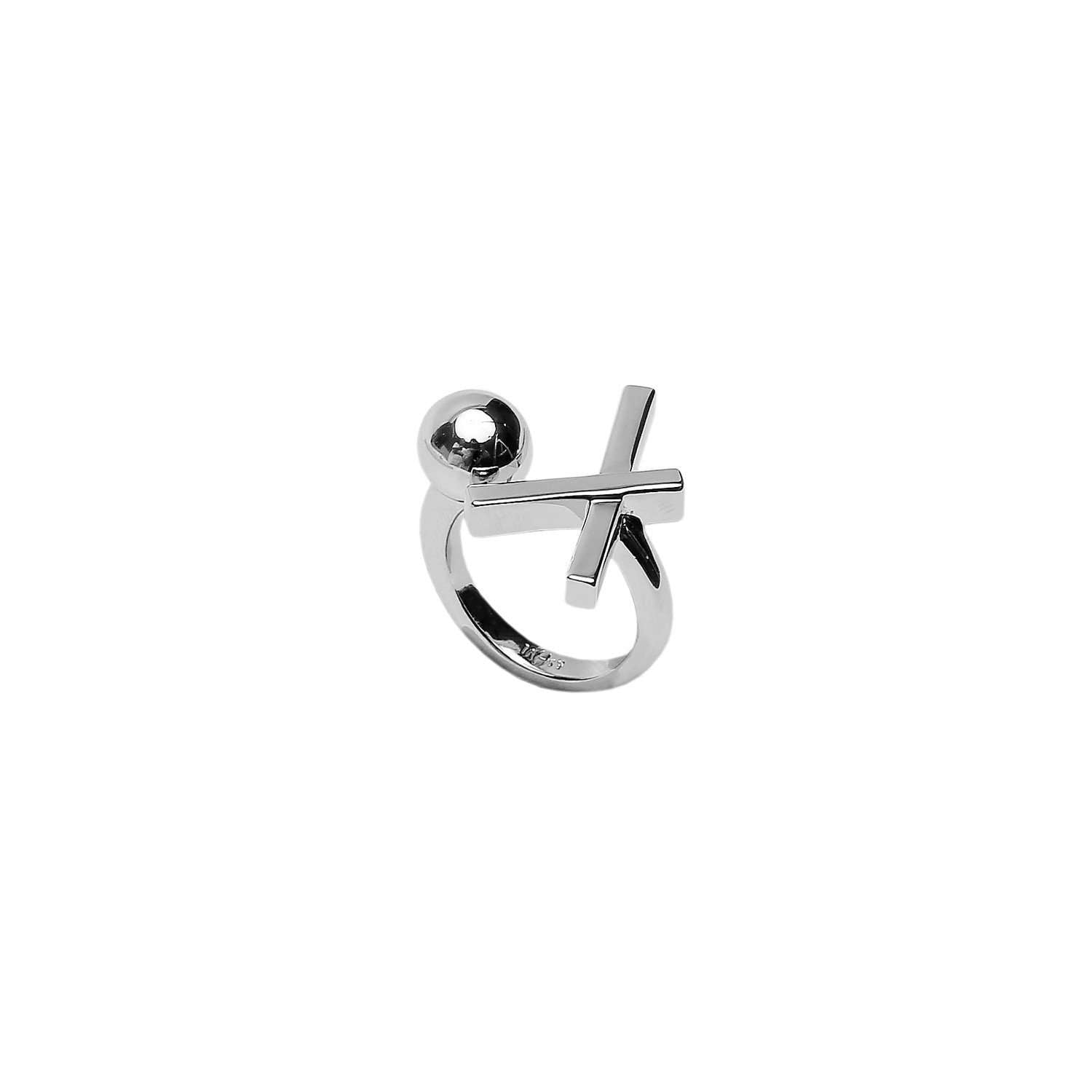 Shop online Rhodium plated ring