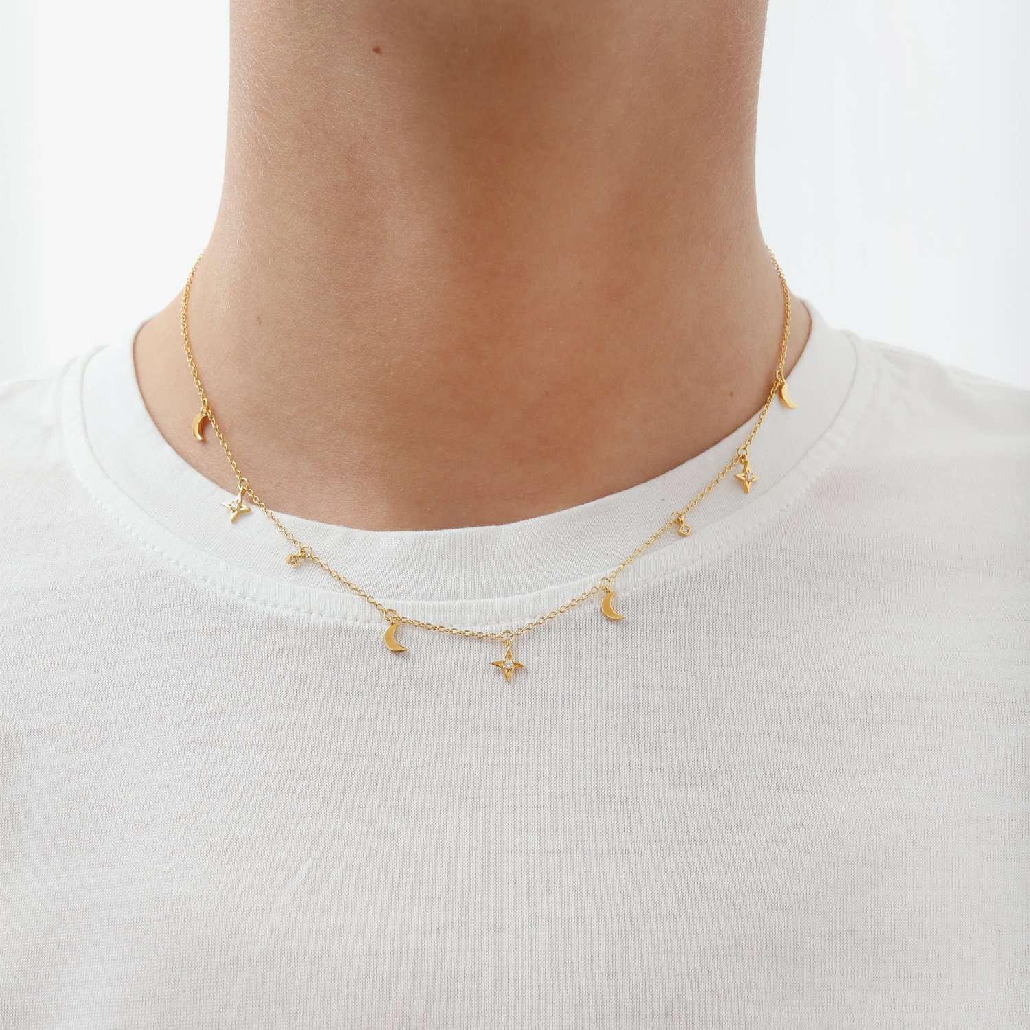 Buy online capsule necklace