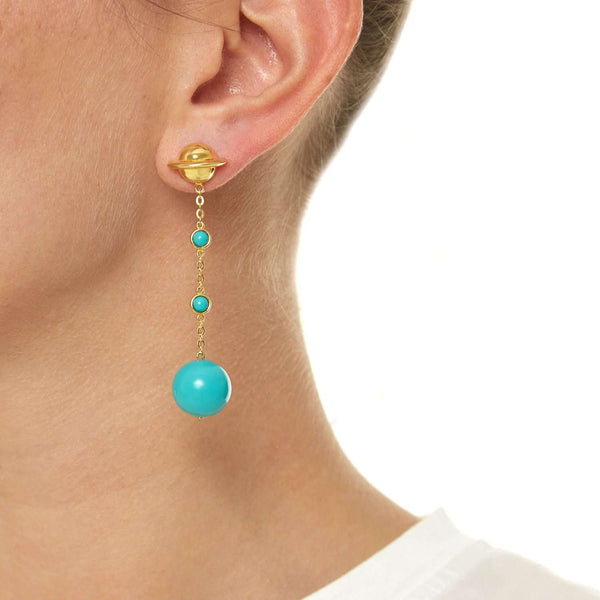 Find out turquoise pair earring | ESHVI