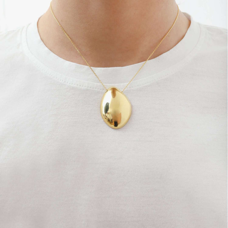 Drop Shape  Large Necklace