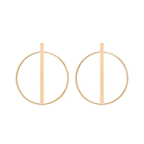 Shop and buy circle earrings