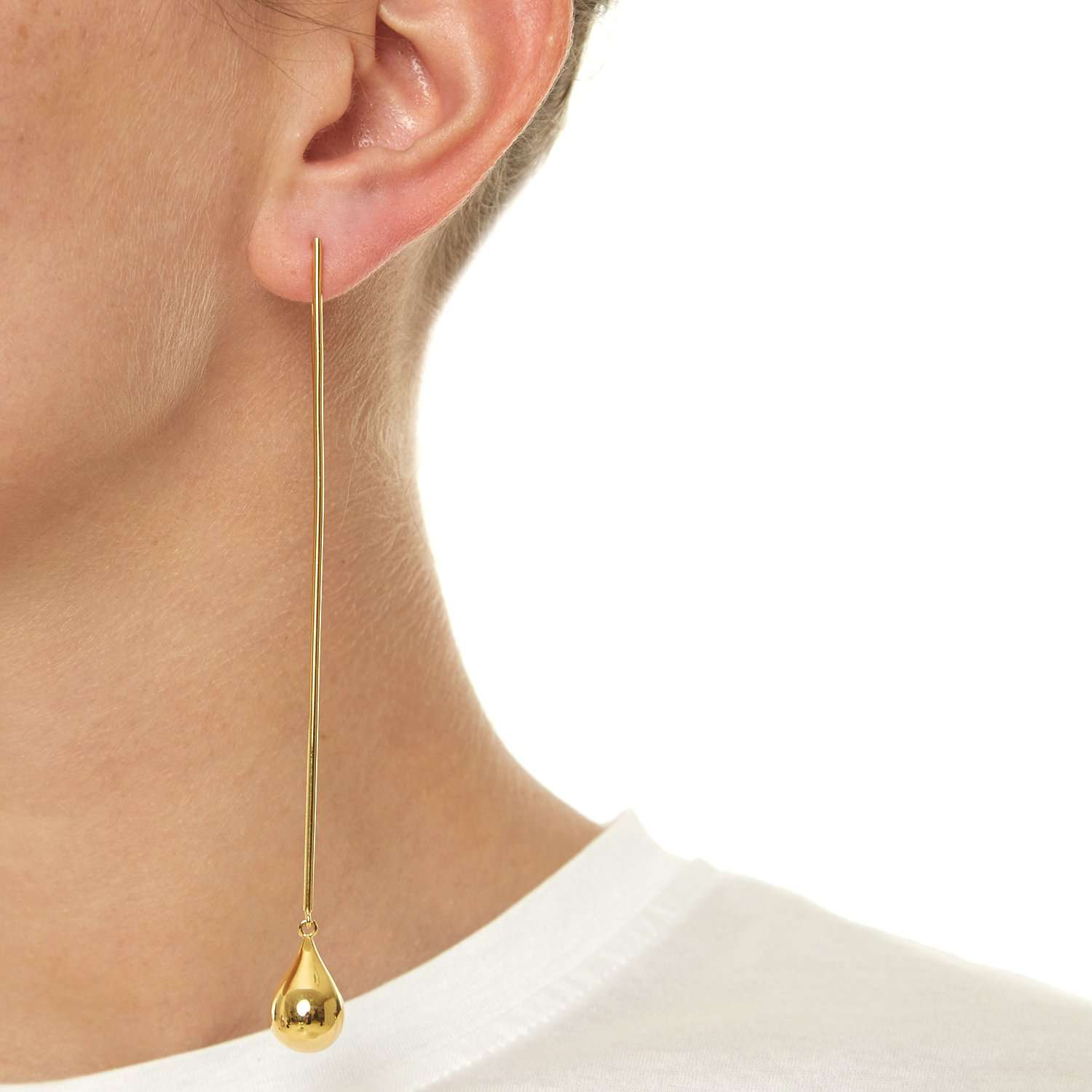 Mk gold drop Earrings