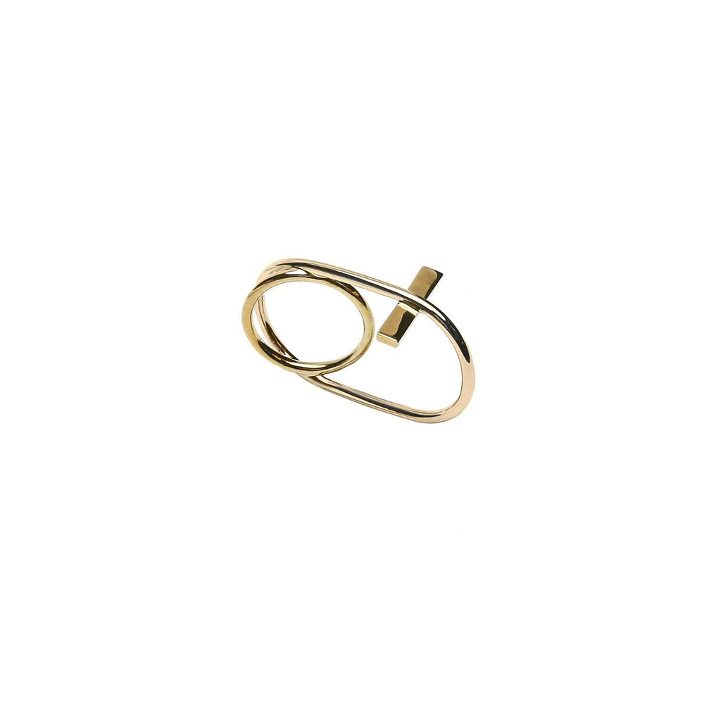 Check out gold plated ring