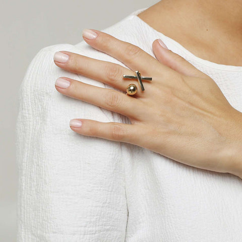Shop online Gold plated ring