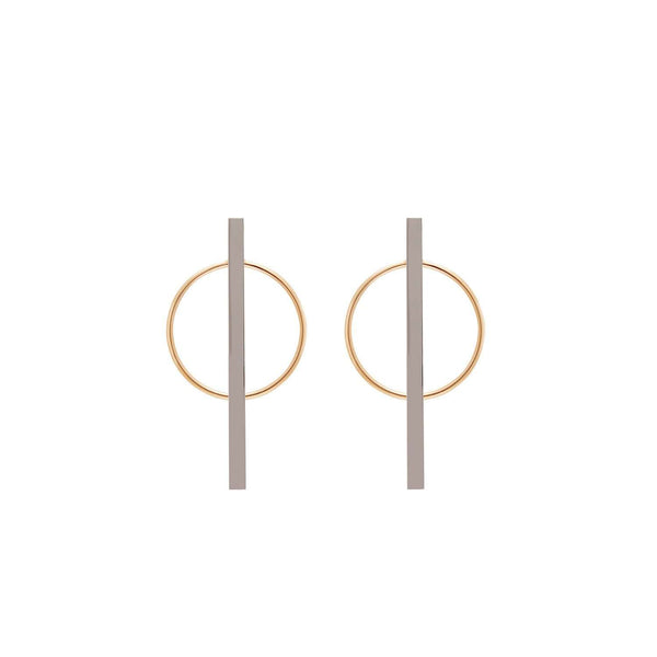 Shop online circle- stick earrings