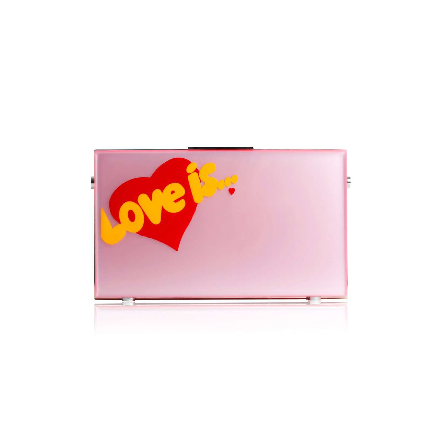Eshvi: Love is clutch bag | Bags -  Hiphunters Shop