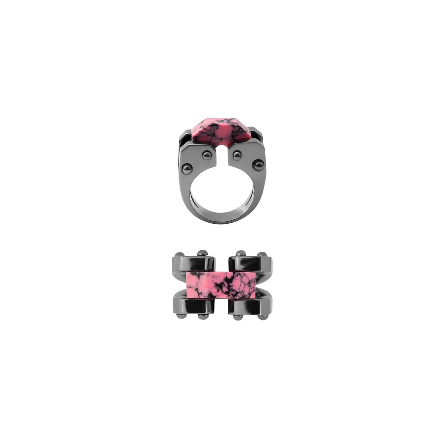 Eshvi: Robot ring | Jewelry > Rings,Jewelry -  Hiphunters Shop