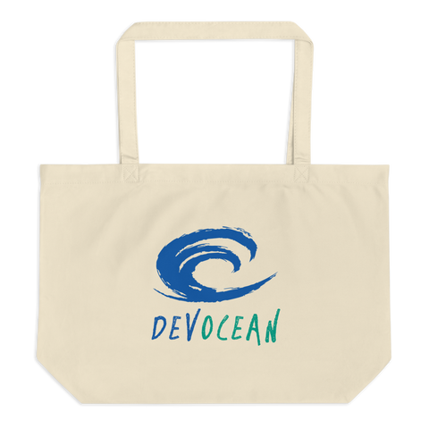 DevOcean Large organic tote bag