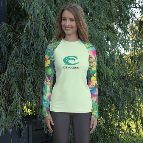 DevOcean Tropics Women's Rash Guard