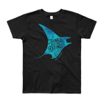 Manta Youth Short Sleeve T-Shirt - Think Before Extinct