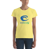 Devocean Women's short sleeve t-shirt - Think Before Extinct