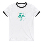 Love Respect Protect. Ringer T-Shirt - Think Before Extinct