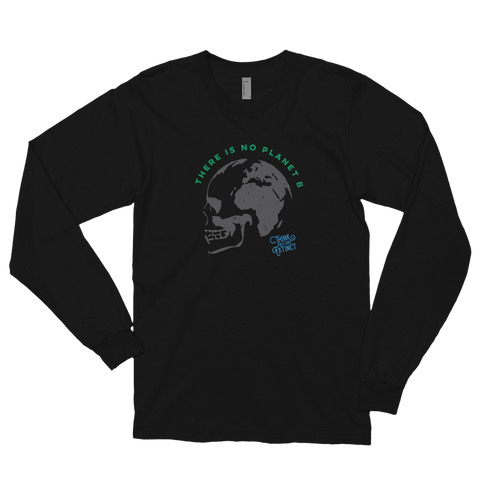 Long sleeve t-shirt - Think Before Extinct