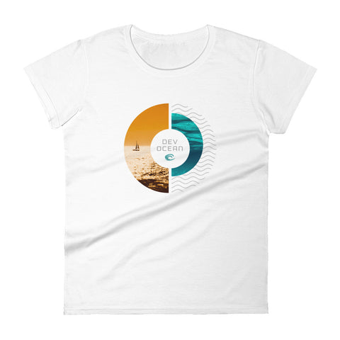 DevOcean Sailing Women's short sleeve t-shirt - Think Before Extinct
