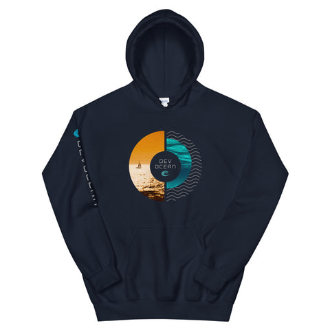 DevOcean Sailing Unisex Hoodie - Think Before Extinct