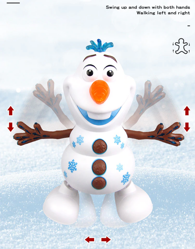 Dancing Snowman Action Figure Toy