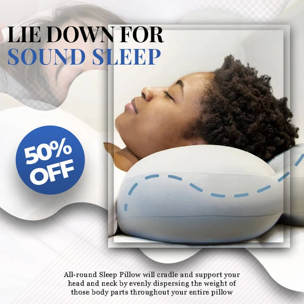 Deep Sleep Addiction 3D Pillow With Washable Pillowcase Cover