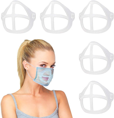 5 Pcs 3D Mouth Face Mask Support