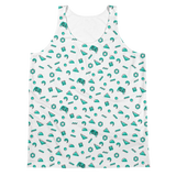 retro print all-over tank top