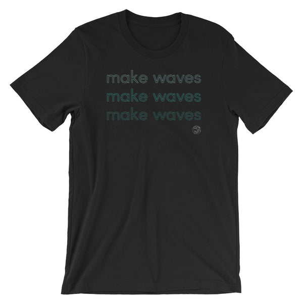 make waves neon tshirt