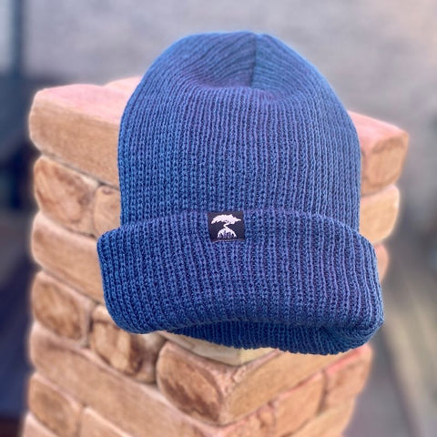 WATCH CAP BEANIE-BLUE