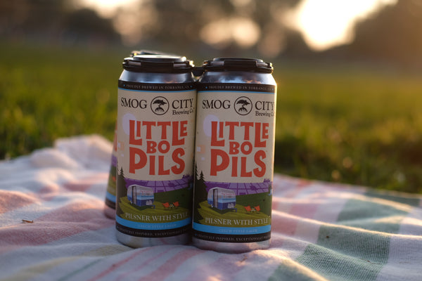 Little Bo Pils 4-pack cans(CA Beer Shipping)