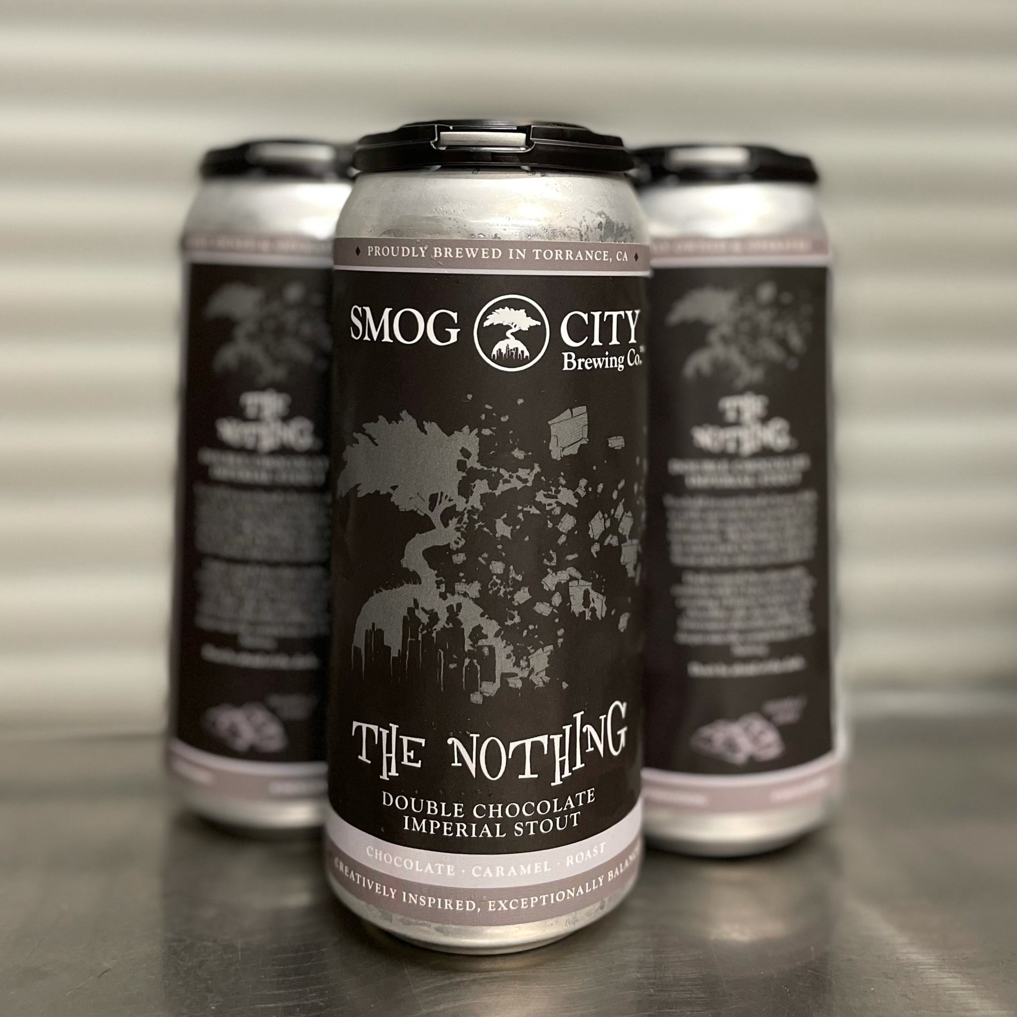 The Nothing 4-pack cans (CA Beer Shipping)