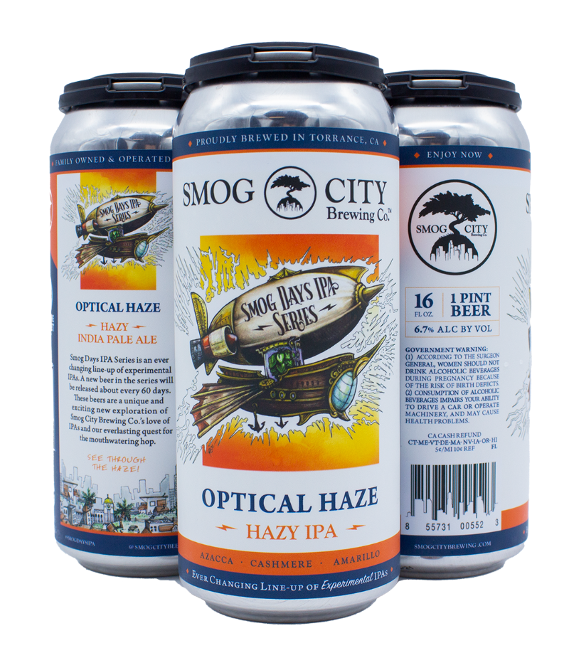 Optical Haze Hazy IPA (Smog Days IPA Series)
