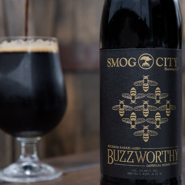Buzzworthy 500ml Bottle 2020 CA Beer Shipping)