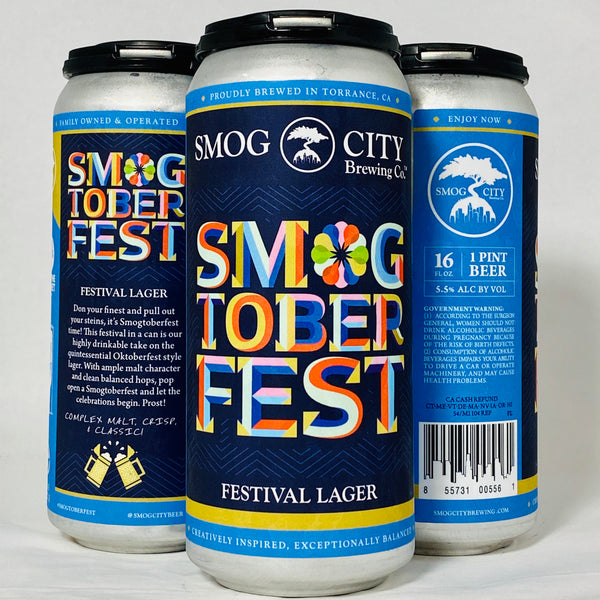 Smogtoberfest (CA Beer Shipping)