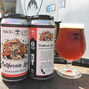 California Love 4-pack cans (CA beer shipping)