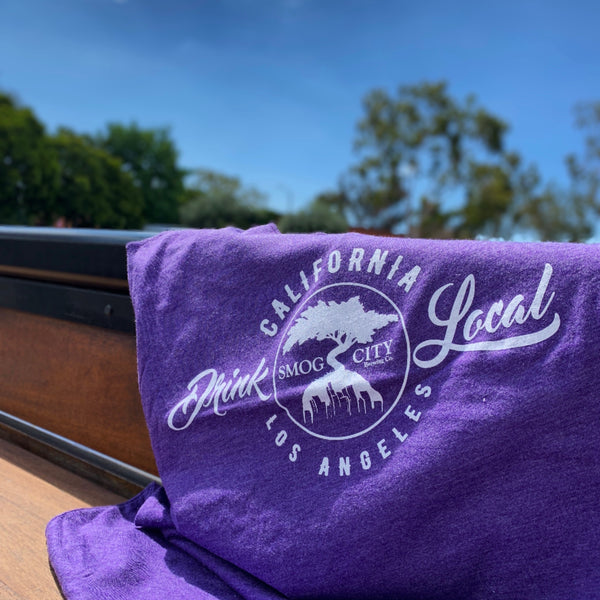 DRINK LOCAL TANK- PURPLE
