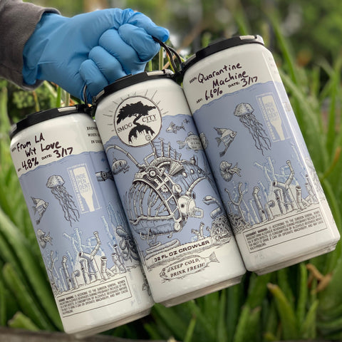 3-Pack Crowler Special (From LA Wit Love, Coffee Porter, and/or from Little Bo Pils)