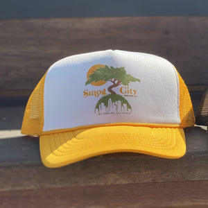 RETRO TRUCKER HAT- YELLOW