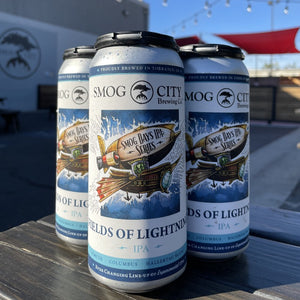Fields of Lightning Smog Days IPA 4-pack cans (CA Beer Shipping)