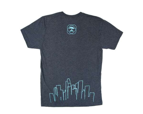 OFFICIAL TAPROOM T SHIRT- VINTAGE BLUE