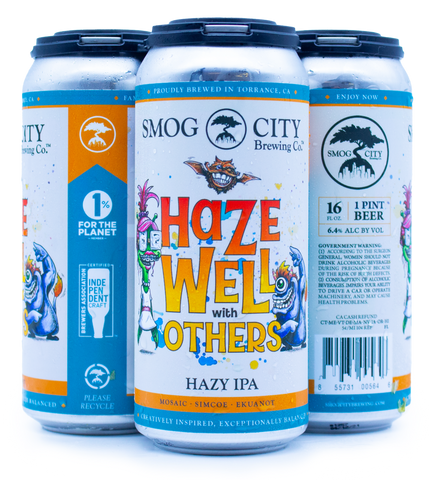 Haze Well With Others Hazy IPA - 4pk (CA Beer Shipping)