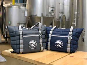 SMOG CITY INSULATED COOLER BAG (Navy blue or Gray)