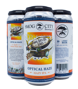 Optical Haze Hazy IPA 4pk (Smog Days IPA Series) - CA Beer Shipping